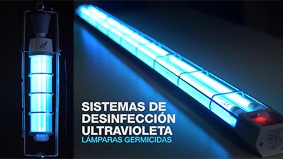 PASCUAL Y FURIÓ. Lámparas UV-C (Vídeo de producto)